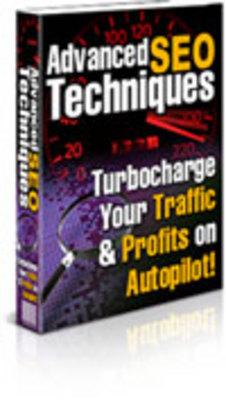 Product picture Advanced SEO Techniques